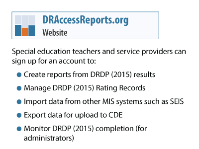 Sign up for an account on our reporting system providing reports and resources