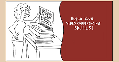 screenshot of video Build Your Video Conferencing Skills